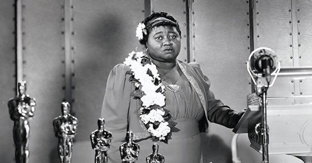 1st African American actress to receive an Oscar