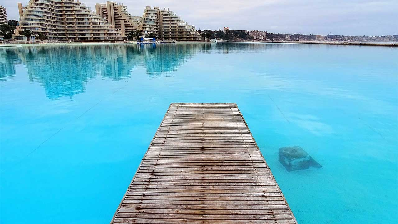 World's largest swimming pool,