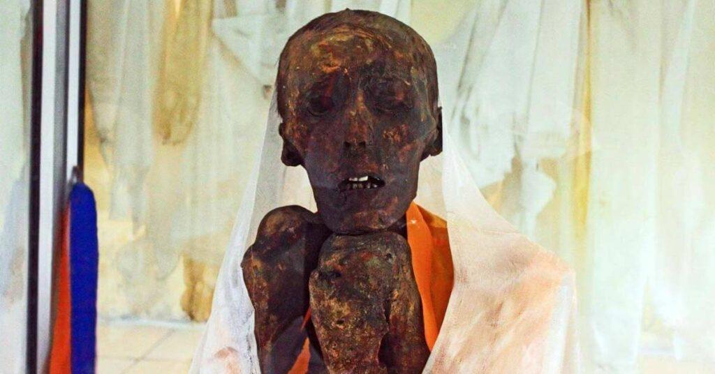 Ancient mummy of india